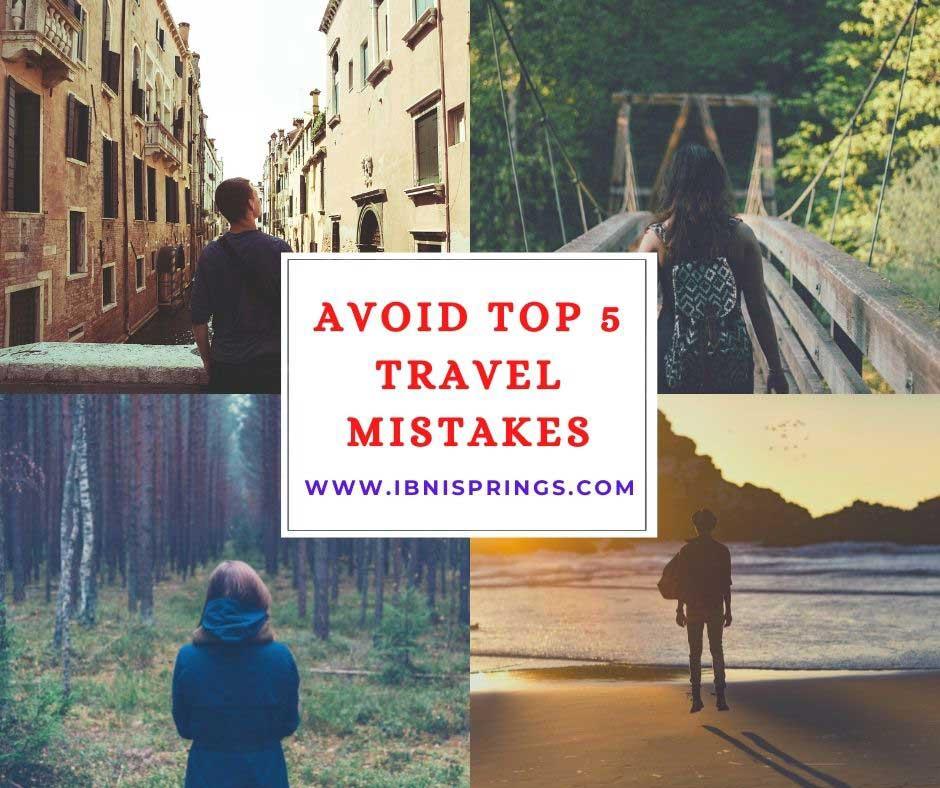 Avoid Traveling Mistake