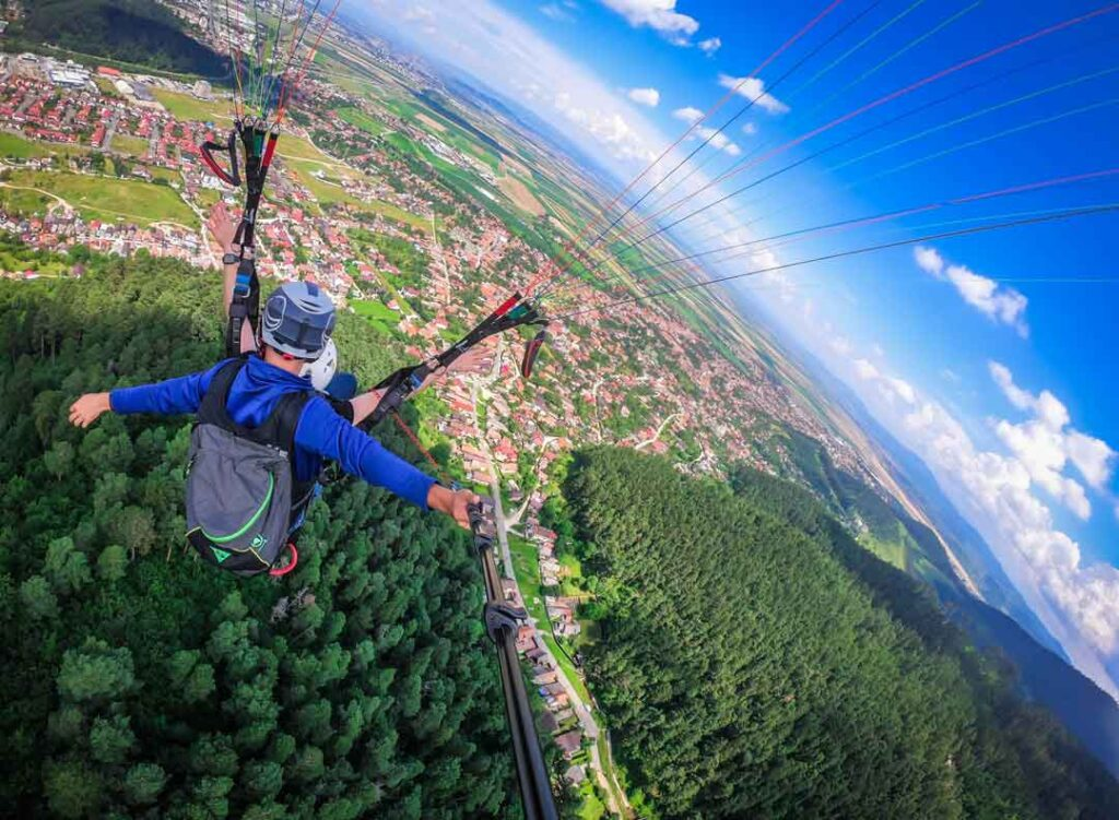 Activity Paragliding at coorg